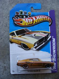 2013 Hot Wheels Super Treasure Hunt HW Showroom 73 Ford Falcon XB MF