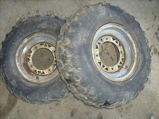 300 Trail Blazer Boss 250 Scrambler Magnum Front Wheel Rim Tire