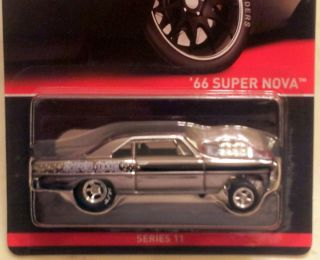 2012 HOT WHEELS RLC EXCLUSIVE 66 SUPER NOVA REAL RIDERS SERIES 11