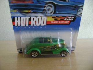 Hot Wheels 2000 Hot Rod Series 33 Ford Roadster 008