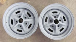 69 Camaro Chevelle Nova SS 14X7 Date Matched Wheels Rims Jan 16 69