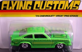 Hot Wheels Flying Customs 74 Chevrolet Vega Pro Stock