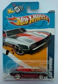 2013 Hot Wheels Hidden Super Treasure Hunt 69 Camaro