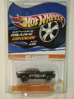 HOT WHEELS 67 CAMARO CHEVY 2011 MEXICO CONVENTION VERY LIMITED ONLY 50