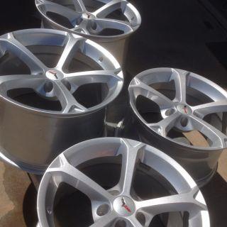 2012 C6 Grand Sport Corvette Wheels Rims 18x9 5 19x12 Z06 Size LS2 3 7