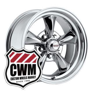 15x7 15x8 Chrome Wheels Rims 5x4 75 for Chevy Impala 1968