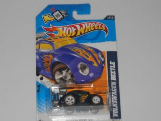 2012 HOT WHEELS VOLKSWAGEN BEETLE SUPER SECRET TREASURE HUNT RR W