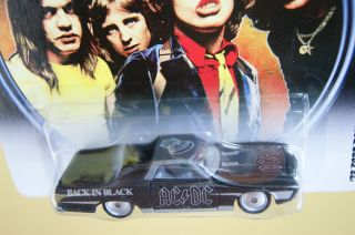 Hot Wheels AC DC 72 Ford Ranchero Back in Black