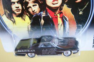 Hot Wheels AC DC 72 Ford Ranchero Back in Black
