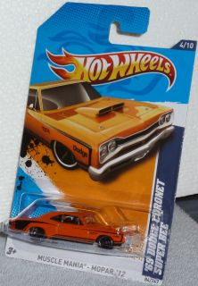 Hot Wheels 69 Dodge Coronet Super Bee Col 84 Muscle Mania