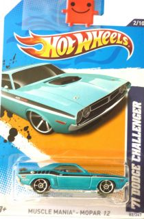 Hot Wheels 71 Dodge Challenger 2012