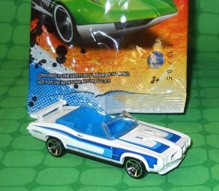 2012 Hot Wheels Mystery Models 05 70 Pontiac GTO Unopened