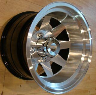 RARE 70s 15x10 Jackman Racing Wheels Rims Mags 5x5 5 Dodge W150 RAM