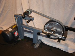 2x72 Belt Grinder Sander 1 5 HP Baldor Motor and 10 Contact Wheel