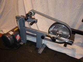2x72 Belt Grinder Sander 1 5 HP Baldor Motor and 10 Contact Wheel