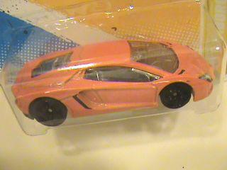 Hot Wheels 12 Lamborghini Aventador 2012 New Models Orange Italian