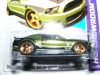 Hot Wheels Super Treasure Hunt 10 Ford Shelby GT500 Mustang SuperSnake