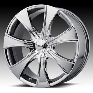 15 inch Helo Chrome Wheels Rims 5x4 75 5x120 65 Chevy S10 Blazer GMC