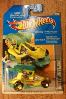 Hot Wheels 2012 HW Code Cars 7 22 Dirty Outlaw Yellow