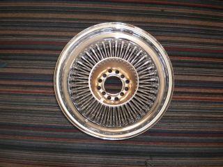 15x7 Wire Wheel 80 Spoke Standard Bolt On