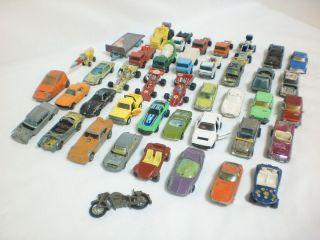 Mixed Lot Junk Yard Hotwheels Yatming Corgi Majorette Playart Toy Cars