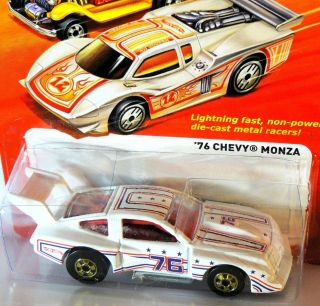 Hot Wheels 2012 The Hot Ones 76 Chevy Monza L Case New