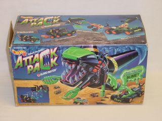 Slime Inator Cement Mixer Hornet Box Hot Wheels Monster Truck