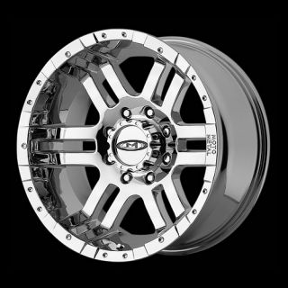 Chrome Rims with 305 70 17 Nitto Terra Grappler at Tires Wheels