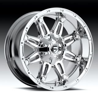18 Wheels Rims Fuel Hostage Chrome Wrangler Liberty
