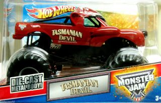 Tasmanian Devil Hot Wheels 2012 Monster Jam 1 24 Scale New Item