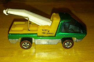 Hot Wheels Redline 1970 Heavyweights Tow Truck Green