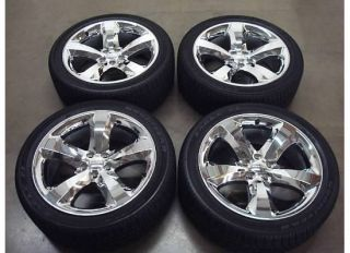 CHALLENGER Charger CHROME Wheels TIRES Rims OEM RT R T HEMI Factory 12