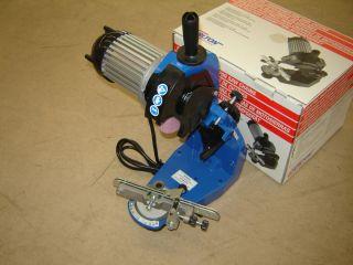 78 120V Chainsaw Chain Grinder Sharpener Electric w Grinding Wheels