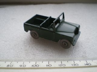 SERIES 11 BY MOKO LESNEY MATCHBOX RARE VERSION GREY PLASTIC WHEELS