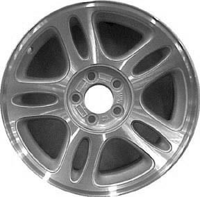 Refinished Ford Mustang 1996 1997 17 inch Wheel Rim O