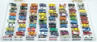 81 Hotwheels Car Van Delivery Truck Collection Mirrored Acrylic
