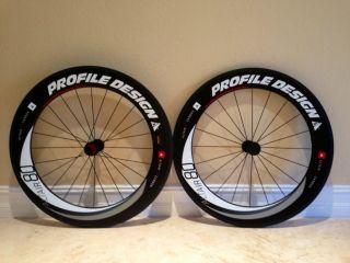 Profile Design Altair 80 Full Carbon Wheel Set Brand New in Box