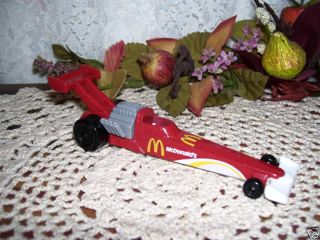 Hot Wheels McDonalds Hot Rod Racer 1993