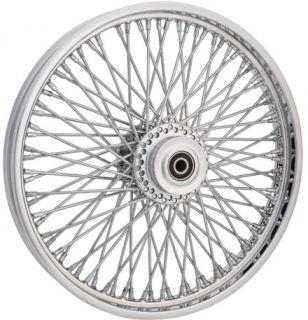 American Wire Wheel 80 Spoke Chr 21 x 2 15 Front Rim Harley Softail