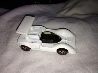 Redline Hot Wheels US White Enamel Chaparral 2G C9
