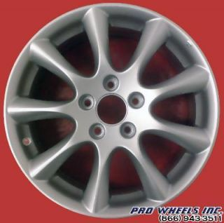 Acura TSX 17 Silver Factory Original Wheel Rim 71750 A