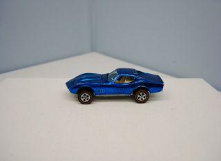 1968 Hot Wheels Custom Corvette Shows Vintage Chevrolet Redline