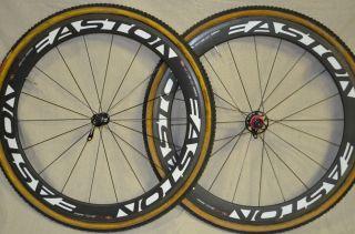 EC 90 Aero Carbon Fiber Cyclo Cross Wheels Wheel Set Tubulars