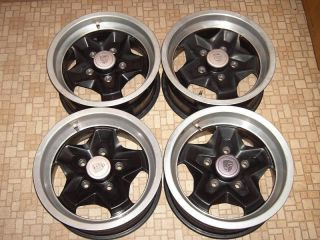 83 84 85 86 PORSCHE 944 911 924 ALUMINUM WHEELS RIMS SET 15X7 COOKIE