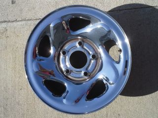 16 INCH 94 01 DODGE 1500 TRUCK FACTORY CHROME CLAD STEEL OEM WHEEL RIM