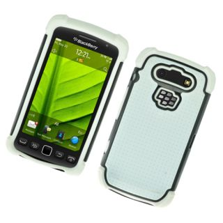 For Rim Blackberry Torch 9860 9850 Monaco 9570 Soft Hard Dot TPU Case