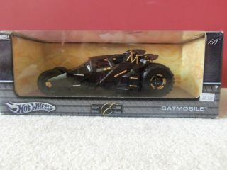 Tumbler Batmobile From Hot Wheels Metal Collection 1 18 Diecast 2004
