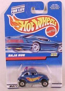 Hot Wheels Collector 835 Blue VW Baja Bug India
