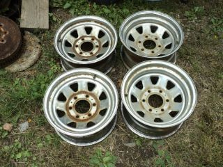 "15"" Steel Wheels 7 8 Chevy GMC Truck 1973 1987 88 91 4x4 6x5 5"