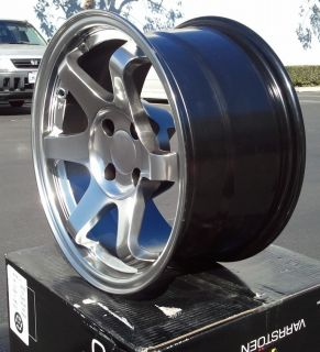 Series 4x114 3 0 Hyper Black Fit AE86 280z 240Z 240sx Wheels